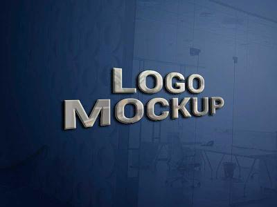 3D Logo Mockup Concept ux ui branding uidesign design illustration ux design vector logo uiux