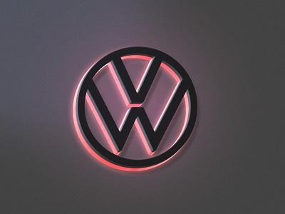 3D logo Mockup With Neon Effect mockup neon effect motion graphics animation graphic design 3d ui uiux logo vector ux design illustration ux uidesign design branding