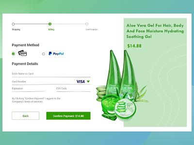 Product payment method page vector logo illustration uiux ux design ux uidesign ui design branding