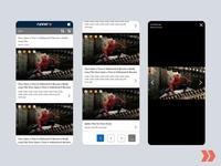 Runner Mobile Lite Search Results materialdesign flat ux app logo icon web design ui