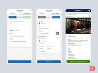 Runner Mobile Lite Email Share pantone materialdesign vector iconography icon web app design branding ui ux