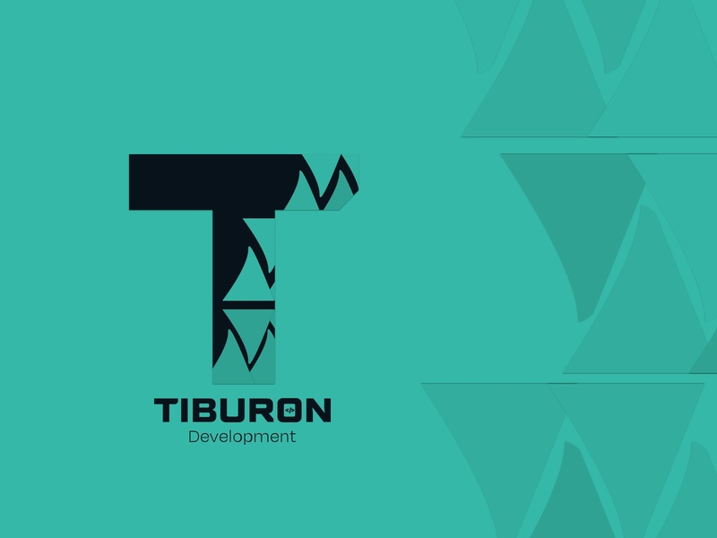 Tiburon Development app design logo web branding ux ui
