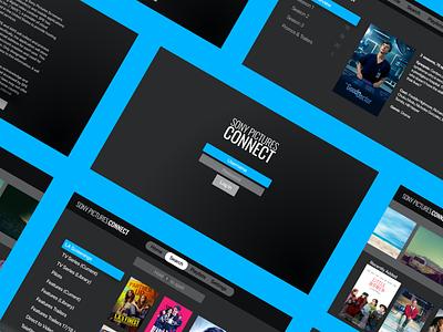 Connect Apple TV UI appletv vector logo illustration ux app branding web design ui iconography