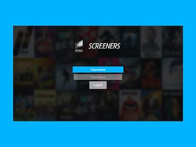 Apple TV Login Page Concept appletv vector logo illustration ux app branding web ui design iconography
