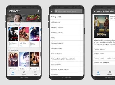Screeners Android