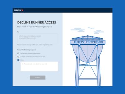 Registration Request UI