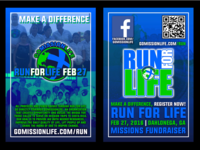 Run For Life 3x5