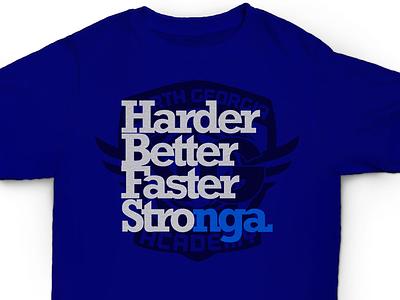 NGA Mock Tee stronger nike team futbol design club soccer shield shirt branding sports tee