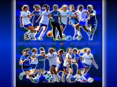 NGA graphic poster soccer