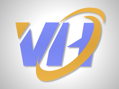 Vertical Horizon vector graphic design branding logo