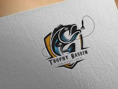 Logo Design hunting fishermen fish logo logodesign fishing logo logos logo logo design
