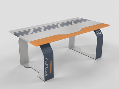 SPACESHIP DINNER TABLE design product product design productdesign
