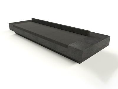 MONOLITH SOFA designer 3d artist rendering branding furniture render design