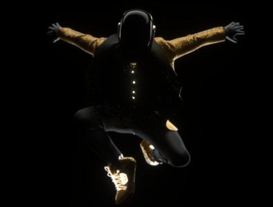 DAFT PUNK - GUY DRAFT before release nft illustration designer render branding 3d artist character design daftpunk 3d