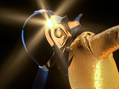Daft Punk - Guy #01 Dj Collection NFT dj nfts metaverse model music punk daft design c4d 3d nft