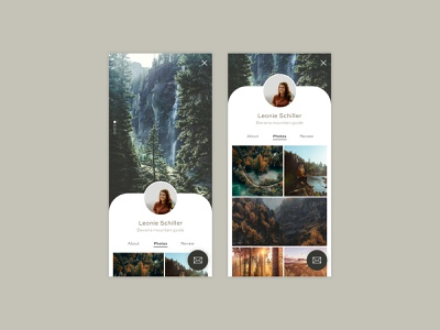 Daily UI #006 | User Profile ui design ui