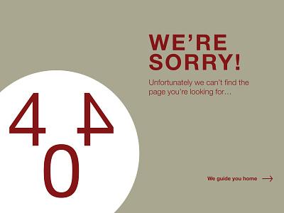 Daily UI #008 | 404 Page dailyuichallenge dailyui