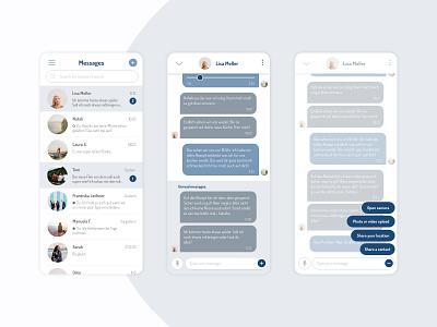 Daily UI #013 | Direct Messaging uxdesign uidesign dailyuichallenge dailyui