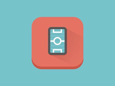 Footie Triv design illustration app icon logo identity vector football game quiz ios iphone
