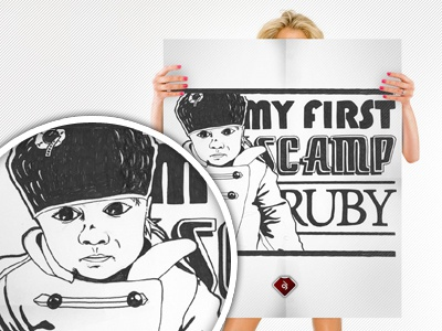 My First Scamps Sketch sketch illustration typography inspiration lettering poster art