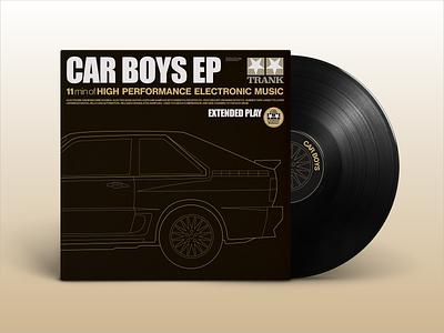 Car Boys Album Art homage car line art album artwork