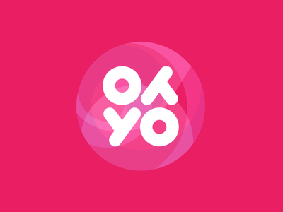 YoYo rotation symmetry percent percentage logo design logotype logo