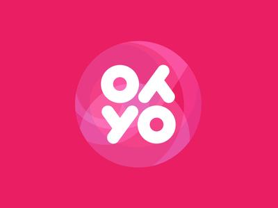 YoYo rotation symmetry percent percentage logo design logotype logo