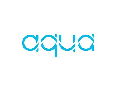 Aqua logo nature wave water aqua identity branding logo design logotype logo