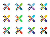 Xchange logo colors
