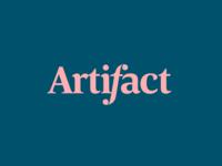 Logo branding • Artifact Interior Design option 2 architecture typeface serif font luxury elegant logotype typography simple vector logo branding bold colorful flat dark clean