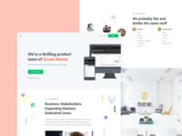 Hiring / Labs Website (Client and copy hidden)