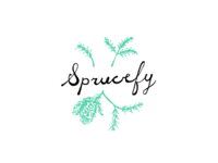 Illustrated Logo - Sprucefy