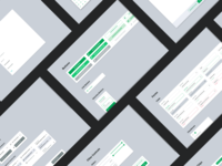 Web App Design System - CBRE