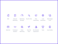 Website icons • Fannit Marketing