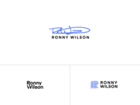 Logo branding • Ronny Wilson Real Estate