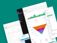 CRM dashboard  • Marketing Manager