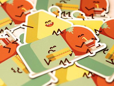 Magnets! vector sticker mule magnet illustrator food cute