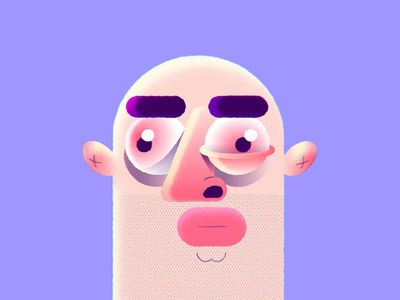 Videos on dribbble! face runny nose run cycle sneeze mp4 after effects 2d animation 2d