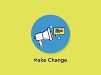 Make Change Icon