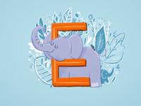 36 days of type - E