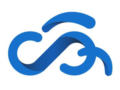 Cloud Analogy Revamped Logo Blue logo cloudanalogy