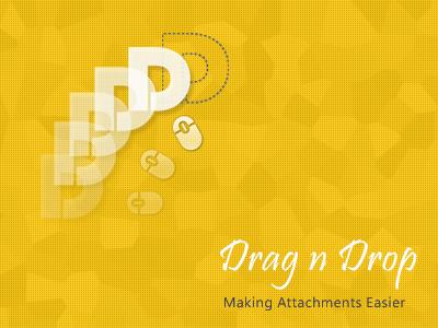Drag n Drop - App branding and logo app drag-n-drop
