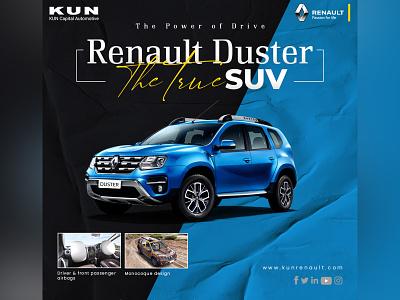 Renault Duster branding design