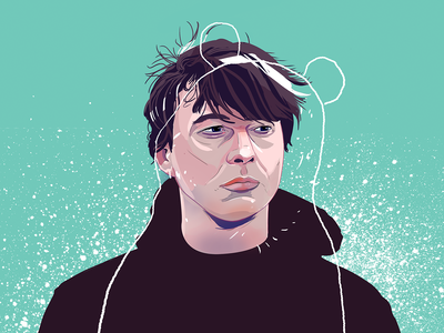 Panda Bear for Bant Magazine