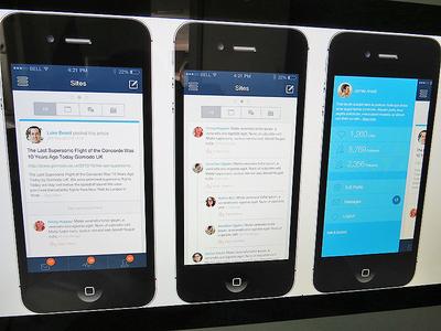 Iphone Dashboard Version