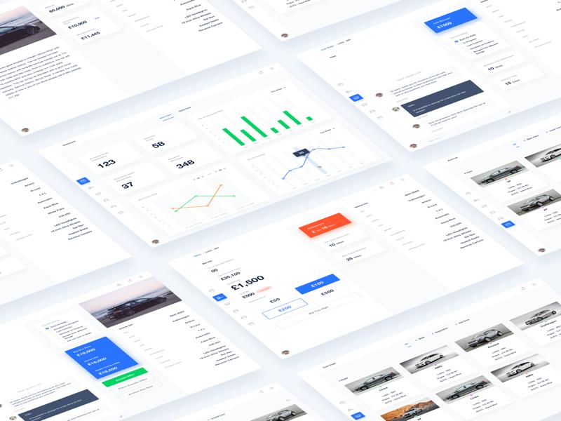 MVP App Design web app mvp app design dashboard ui ux