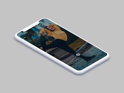 Unsplash iOS App Animation