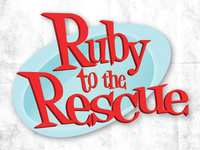 Ruby to the Rescue Logo 1st Pass