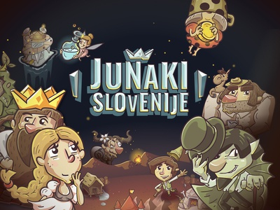 """Heroes of Slovenia"" mobile game"