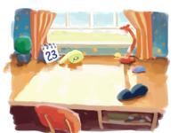Background concept - OTO TV cartoon